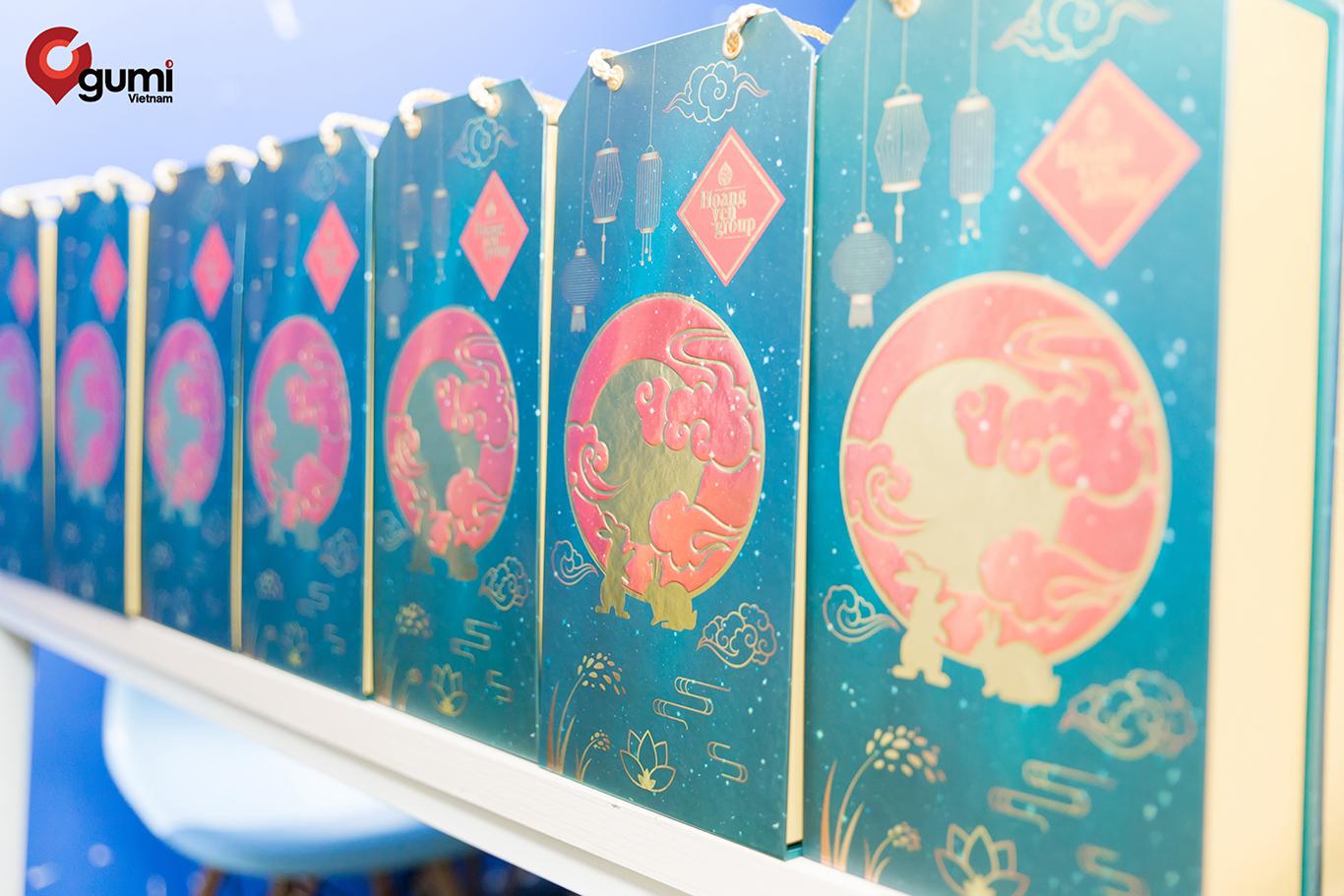 Phần quà ý nghĩa dành cho các bạn thực tập sinh tại gumi Vietnam.